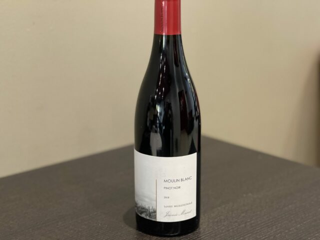 Vin rouge Moulin Blanc Pinot noir