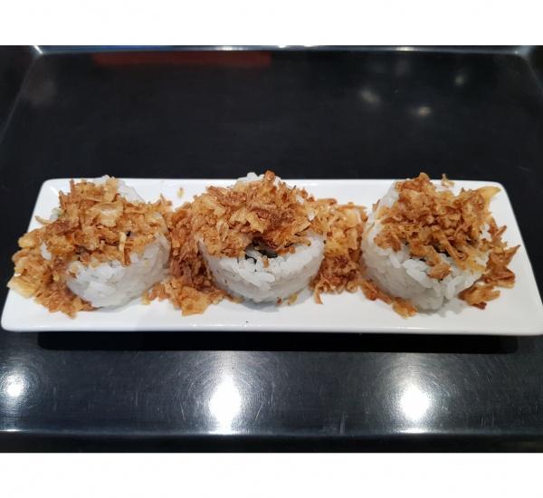 poulet avocat mayonnaise oignons frits le jap 39 yonnais. Black Bedroom Furniture Sets. Home Design Ideas