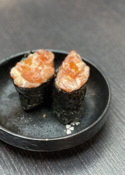 gunkan tartare de saumon