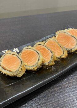Sashimi saumon tempura
