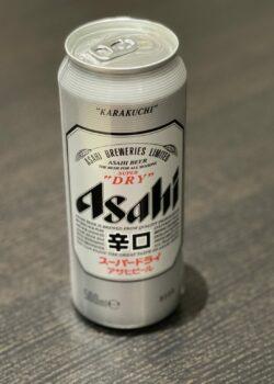 Canette de bière ASAHI 50cl